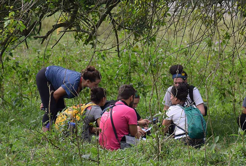 School group visits the Ziwa Rhino Sanctuary in Uganda+travel-with+Kwezi+Outdoors